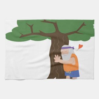 Linge De Cuisine Homme de Hugger d'arbre