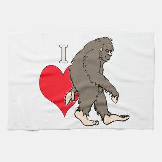 Linge De Cuisine j'aime Bigfoot, 2
