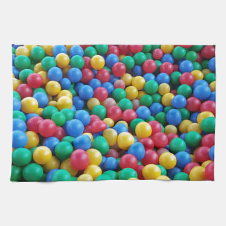 Linge De Cuisine Jeu coloré d'enfants de boules de mine de boule