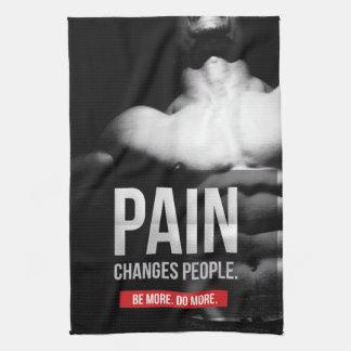 Linge De Cuisine La douleur change des personnes - séance