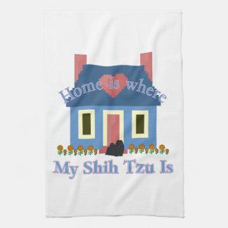 Linge De Cuisine La maison de Shih Tzu est
