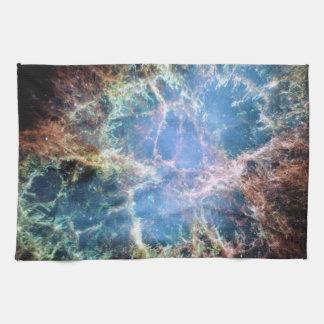 Linge De Cuisine La NASA de supernova de nébuleuse de crabe
