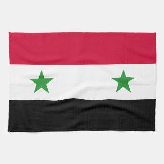 Linge De Cuisine Le drapeau de la Syrie