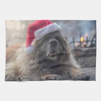 Linge De Cuisine Leonberger Père Noël