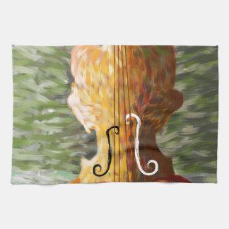 Linge De Cuisine Lonessia V1 - beauté de violon