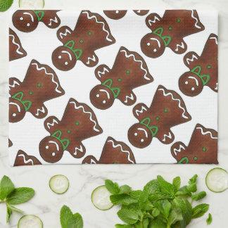 Linge De Cuisine Madame Christmas Cookie Holiday Towel de pain