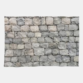 Linge De Cuisine Mur de pierres sèches
