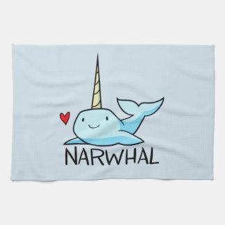 Linge De Cuisine Narwhal