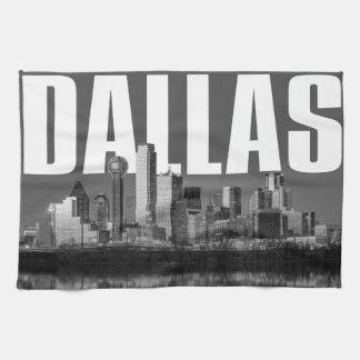 Linge De Cuisine Paysage urbain de Dallas
