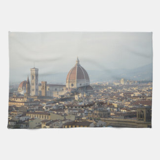 Linge De Cuisine Paysage urbain de Florence Italie