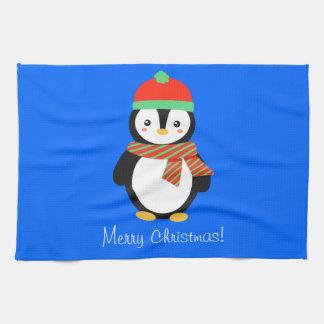 Linge De Cuisine Pingouin personnalisable de vacances