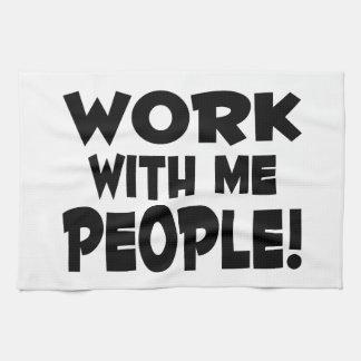 Linge De Cuisine Travail avec moi travail d'équipe de personnes