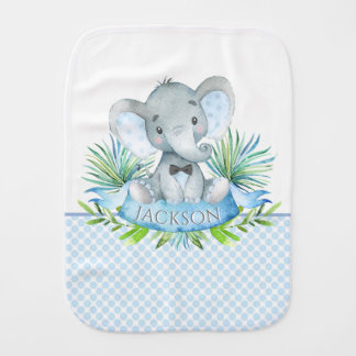 Linges de bébé de bébé d'éléphant de garçon