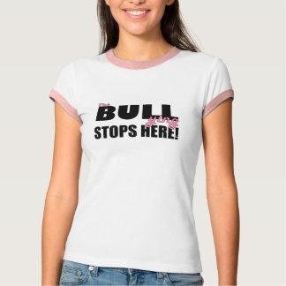 L'intimidation arrête ici le T-shirt rose