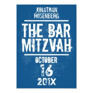 Invitation bar Mitzvah personnalisables sur Zazzle