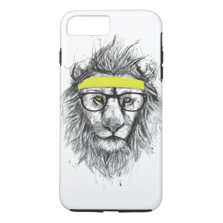 Lion de hippie coque iPhone 7 plus
