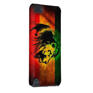 Lion de reggae de Cori Reith Rasta Coque iPod Touch 5G