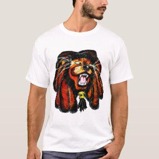 Lion d'hurlement t-shirt