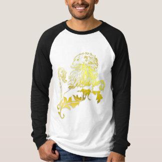 Lion héraldique d'or - le T-shirts de MyBlazon