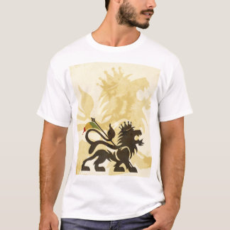 Lion Tan de Ras T-shirt
