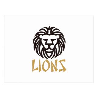 Lions Carte Postale