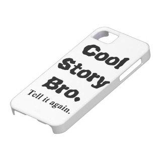 l'iPhone 5 cas refroidissent l'histoire Bro drôle Étuis iPhone 5