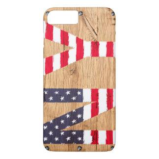 L'iPhone Samsung d'Apple de drapeau des Etats-Unis Coque iPhone 7 Plus
