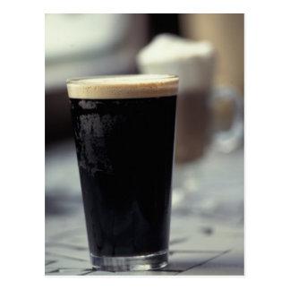 L'Irlande. Pinte de bière de malt Carte Postale