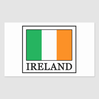 L'Irlande Sticker Rectangulaire