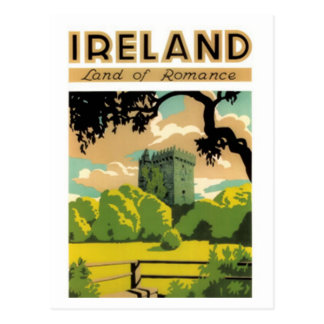 cartes postales vintages d'Irlande