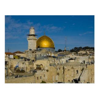 L'Israël, Jérusalem, dôme de la roche Carte Postale