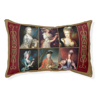 Lit de chien de collage de Marie Antoinette