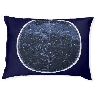 Lit du nord d'animal familier de constellations