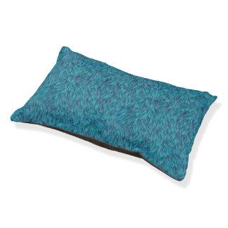 Lit Pour Animaux Fourrure géniale bleue