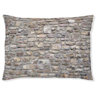 Lit Pour Animaux Mur en pierre