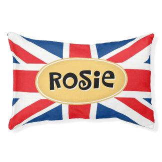 Lit Pour Animaux Rosie a personnalisé les Anglais