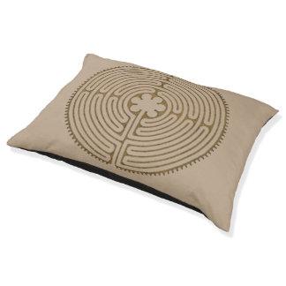 Lit Pour Animaux Style d'antiquité de labyrinthe de Chartres + vos