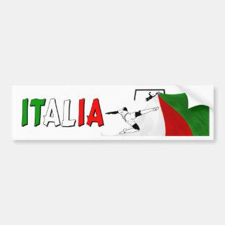 L'Italie Autocollant De Voiture