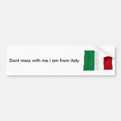 l'Italie, Adhésifs Pour Voiture