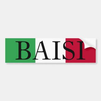 l'Italie, BAISI Autocollant De Voiture