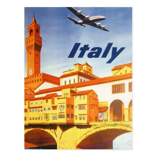 L'Italie Carte Postale