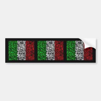 L'Italie - drapeau Autocollant De Voiture