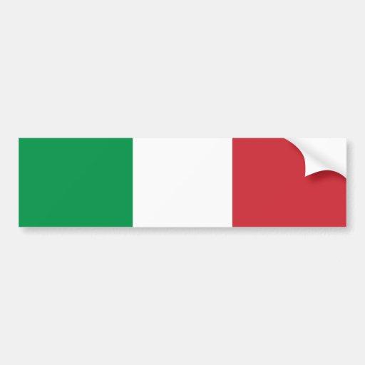L'Italie/drapeau italien Autocollants Pour Voiture