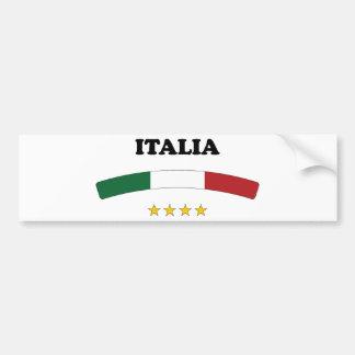 L'Italie/Italie Autocollant De Voiture