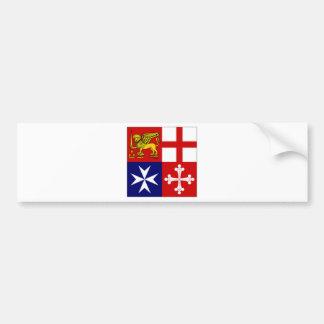 L'Italie Jack naval Autocollants Pour Voiture