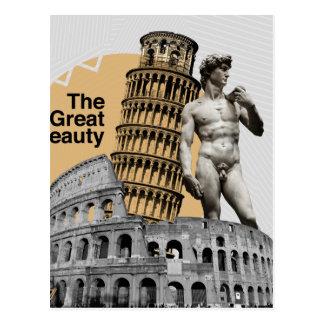 L'Italie, la grande beauté Carte Postale