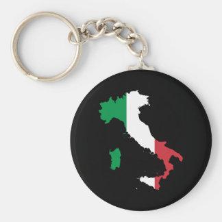 L'Italie Porte-clé Rond