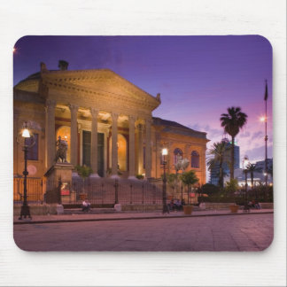 L'Italie, Sicile, Palerme, opéra de Teatro Massimo Tapis De Souris