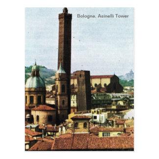 L'Italie vintage, Bologna, tour d'Asinelli Carte Postale