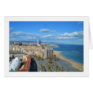 Littoral de Barcelone Carte